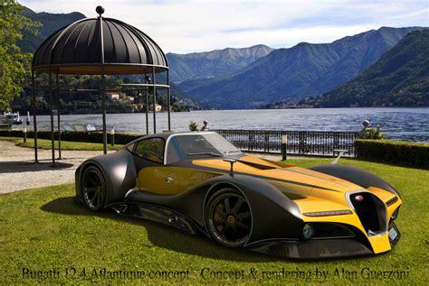 Bugatti 124 Atlantique Grand Sport Concept By Alan
