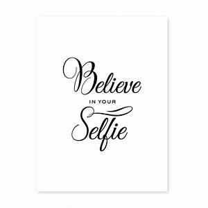 Schwarz Weiß Sprüche : poster 39 selfie 39 30x40 cm schwarz weiss motiv fun spruch typographie poster spr che typographie ~ Orissabook.com Haus und Dekorationen