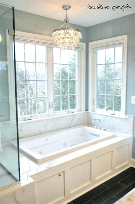 light  bathtub crystal chandelier  bathtub master