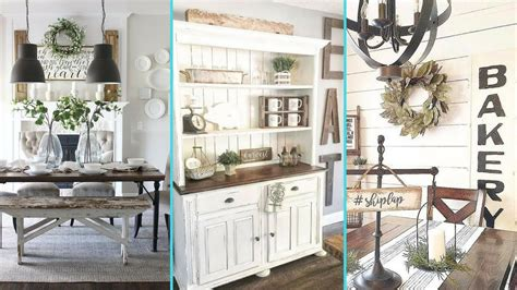 Kitchen Room Decor Ideas by Diy Rustic Shabby Chic Style Dining Room Decor Ideas