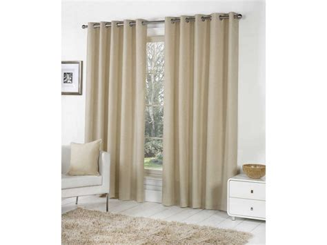 Fusion Sorbonne Eyelet Natural Curtains and Cushions