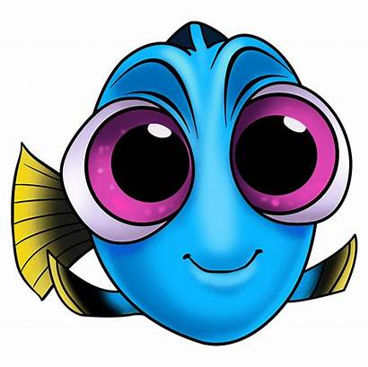Dory Finding Draw Drawing Easy Purple Step