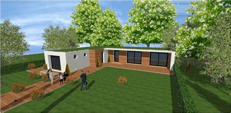 maison moderne toit plat toit terrasse cubiques cubes carrees maisons qualitis construction de