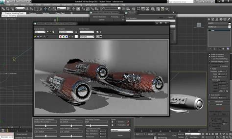 3ds Max Speed Modeling A Racing Pod
