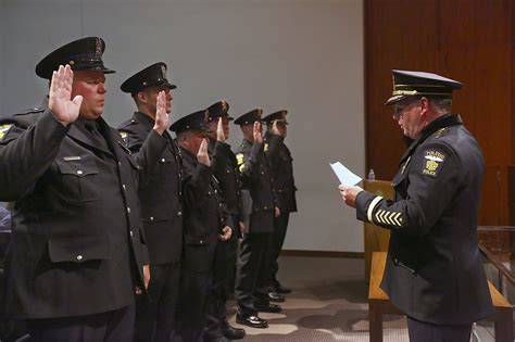 Toledo Police Department promotes 6 officers - The Blade