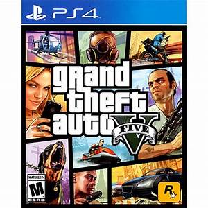 Grand Theft Auto V - PlayStation 4 - 7859421 | HSN