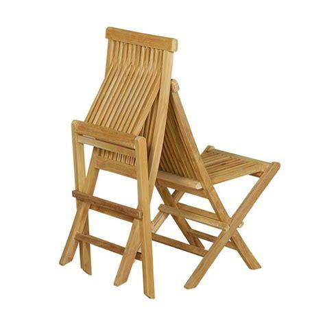 chaise en teck naturel brut de grade jardininterieur