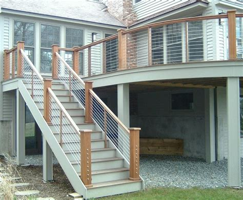 Deck Railing Ideas Home Depot by Deck Railing Designs Wood Deck Design And Ideas