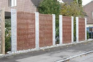 Sichtschutz Aus Weide : weidenzaun sichtschutz ~ Lizthompson.info Haus und Dekorationen