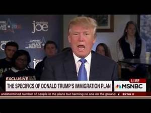 Trump: I'll create a deportation force to eject all ...