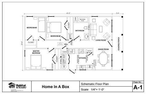 Unique Habitat House Plans #13 Habitat For Humanity Floor