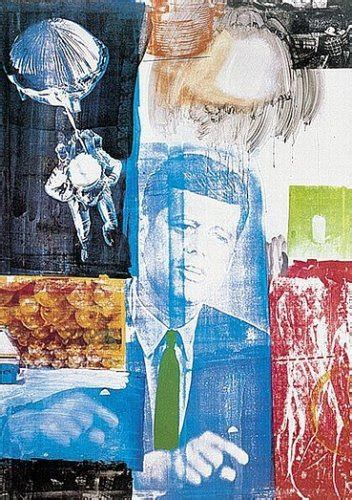 retroactive  kennedy art print  robert rauschenberg