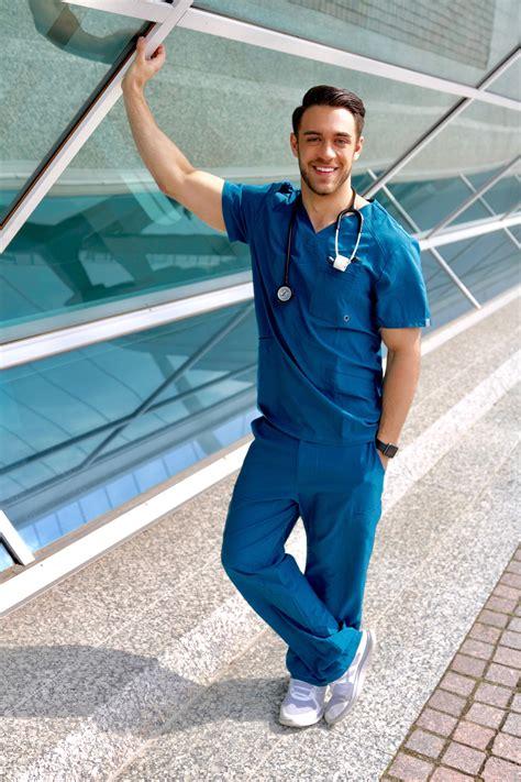 surgery patient  aspiring doctor scrubs