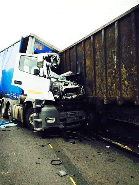 fatal lorry crash verdict driver   eye drops