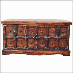 rustic wood storage blanket box coffee cocktail table With coffee table with blanket storage
