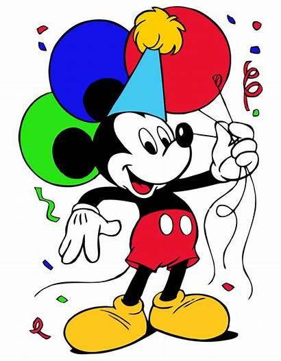 Mickey Mouse Clipart Clip Birthday Disney Happy