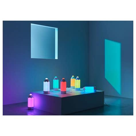 pelarboj lampada da tavolo  led multicolore ikea