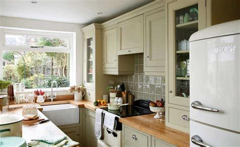 green kitchen east side 12 beautiful small kitchen ideas period living 6942