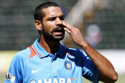 shikhar dhawan hair style i had chance to score a hundred dhawan