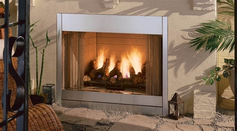 vent free outdoor fireplace monessen al fresco stainless steel outdoor vent free gas