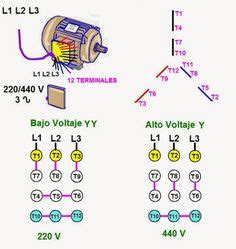 three phase motor connection power electrical technology electrical