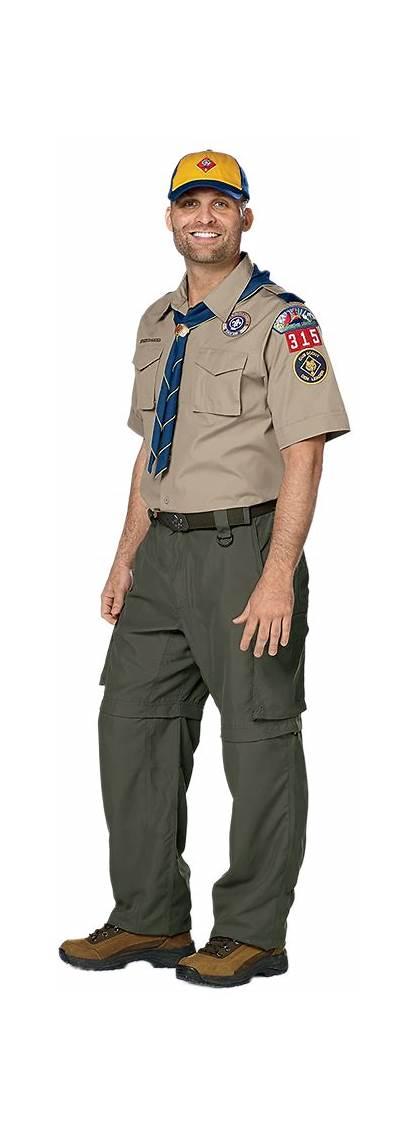Scout Uniform Cub Leaders Adult Leader Shirt