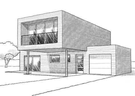 plan maison 120 m 178 224 ossature en bois ooreka