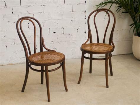 chaise bistrot thonet thonet chairs vintage retro antique bistro chair