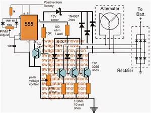 3 Phase Motorcycle Voltage Regulator Circuit