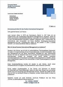 Duales Studium Management : motivationsschreiben international management bachelor ~ Jslefanu.com Haus und Dekorationen