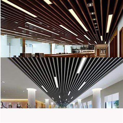 Led Streifen Decke by Led Lights Office Ceiling U Shaped Aluminum Shopping