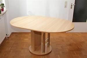 Esszimmertisch Zum Ausziehen : tisch oval neu und gebraucht kaufen bei ~ Frokenaadalensverden.com Haus und Dekorationen