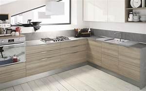 cuisine en bois bois clair meuble de cuisine en bois With cuisine moderne en bois