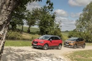 Fiabilité Renault Captur : essai comparatif l 39 opel crossland x d fie le renault captur 2017 l 39 argus ~ Gottalentnigeria.com Avis de Voitures