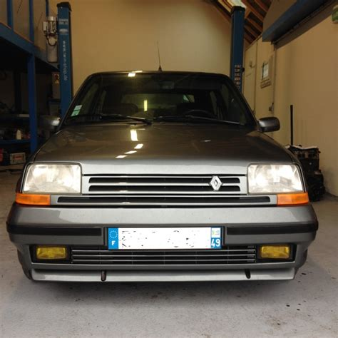 siege 5 gt turbo 76 renault 5 gt turbo phase 2 gris tungsténe 1989