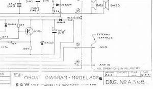 B U0026w 802   Bowers  U0026 Wilkins   Crossover Schematic