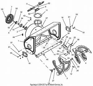Ariens 921032  000101 - 099999  Deluxe 30 U0026quot  Parts Diagram For Auger And Housing