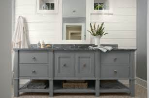 Hampton Bay Shaker Wall Cabinets by Grey Bathroom Vanity Cottage Bathroom Murphy Amp Co