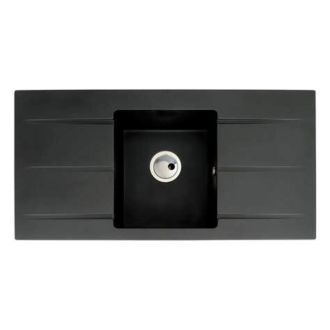 kitchen sink drainer abode zero 1 0 bowl drainer granite sink sinks 5712