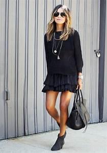 Welche Strumpfhose Zum Schwarzen Kleid : die besten 25 schwarzes kleid ideen auf pinterest schwarzes kleid outfits doc martens outfit ~ Eleganceandgraceweddings.com Haus und Dekorationen