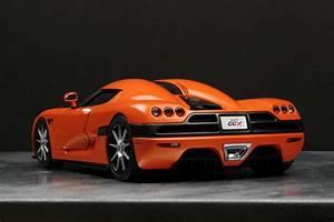 Fast Cars Online: Koenigsegg CCX Orange