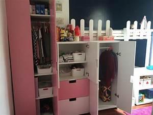 Rangement Chambre Enfant Ikea : un lit cabane avec plein de rangements ~ Teatrodelosmanantiales.com Idées de Décoration
