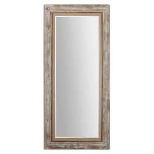 floor mirror wood uttermost 13850 fardella wood floor mirror 653 40