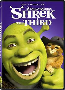 Shrek the Third DVD Release Date November 13, 2007
