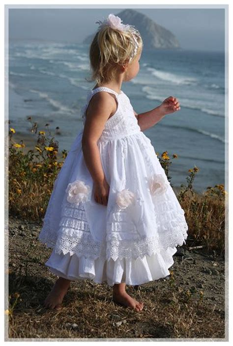 ideas  beach flower girls  pinterest beach