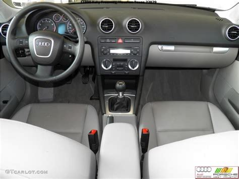 audi a3 dashboard 2006 audi a3 2 0t light grey dashboard photo 41688101