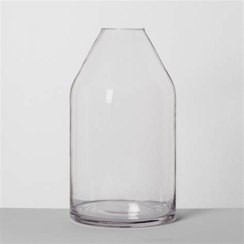 Large Clear Vase by Jug Vase Large Clear Hearth With Magnolia Target