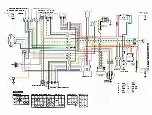 Complete Nu50m Wiring Diagram  By Cafeteriafumes   U2014 Moped Army