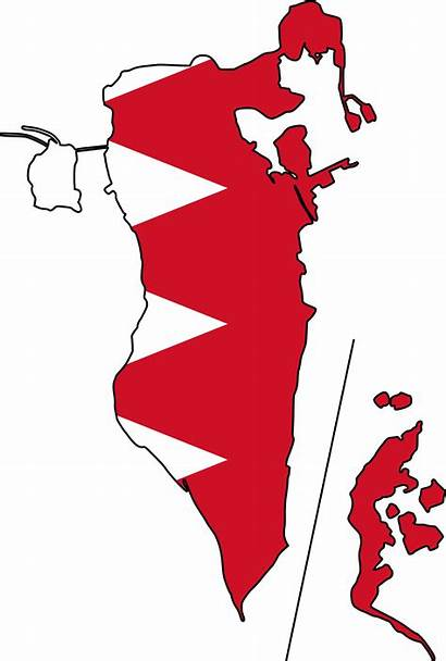 Map Bahrain Flag Flags Mapfile Type