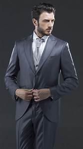 Costume Mariage Homme Gris : costume de mariage homme gris le mariage ~ Mglfilm.com Idées de Décoration